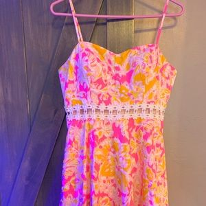 Lilly Pulitzer Lenore Dress in Oh La La